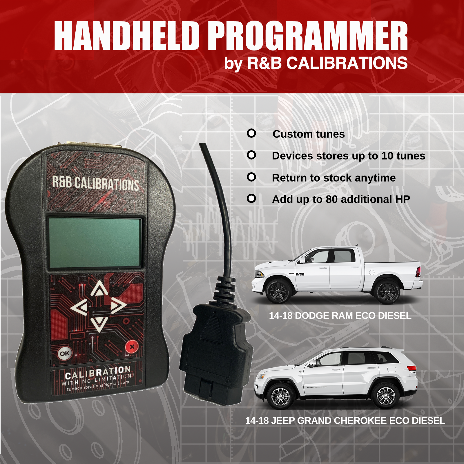 HandHeld Tuner from R&B Calibrations